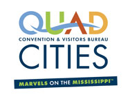 QC Convention & Visitors Bureau logo