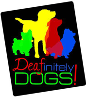 DEAFinitely Dogs logo